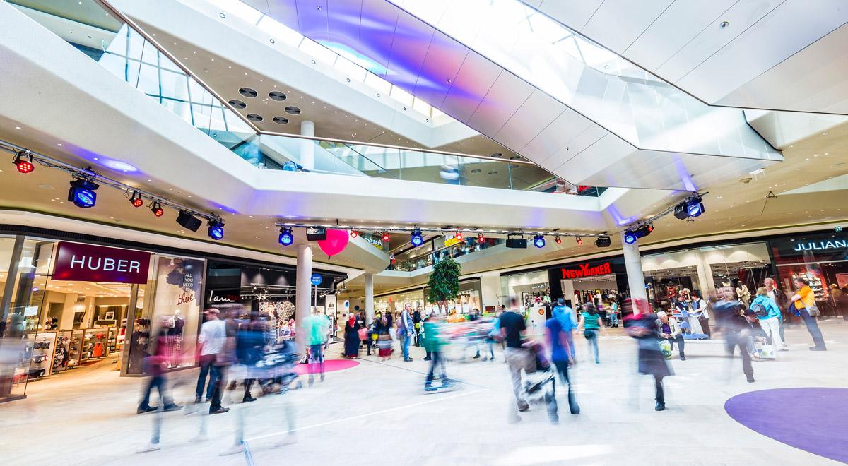 Shoppingcenter Fischapark / Foto: © Michael Mazohl