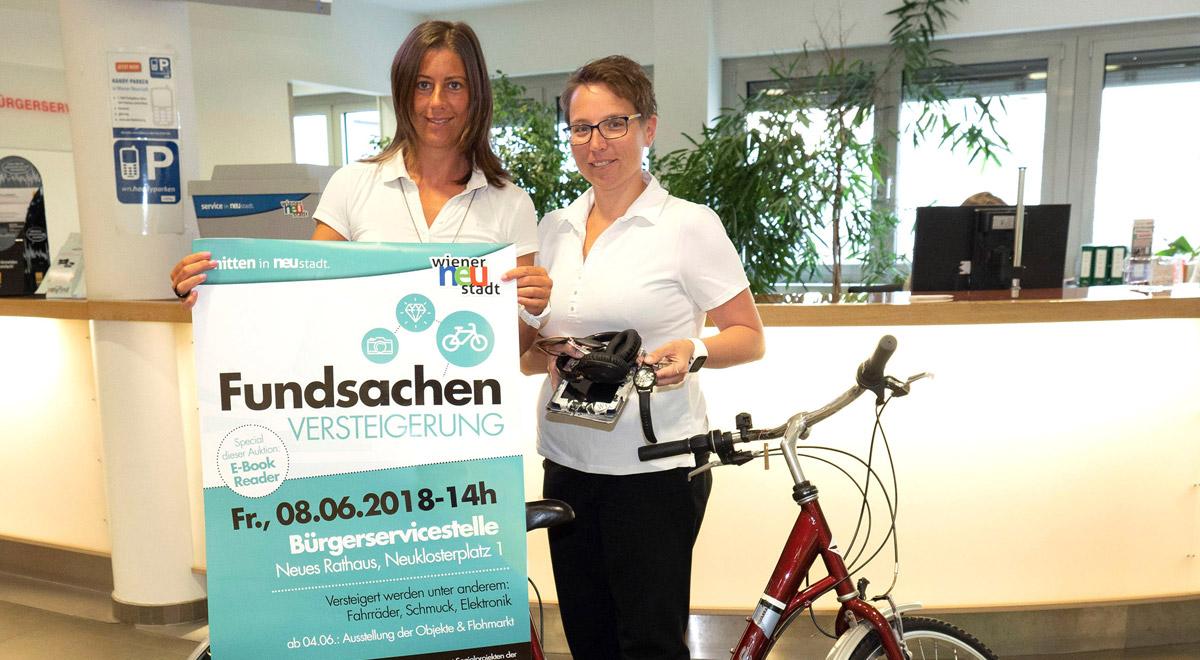 Fundsachen-Versteigerung 2018 / Foto: Wiener Neustadt/Weller