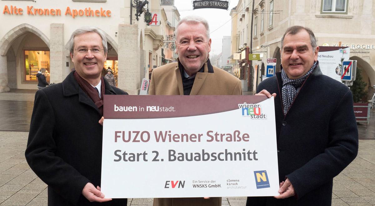 2. Bauphase Fuzo Wiener Straße / Foto: Wiener Neustadt, Weller