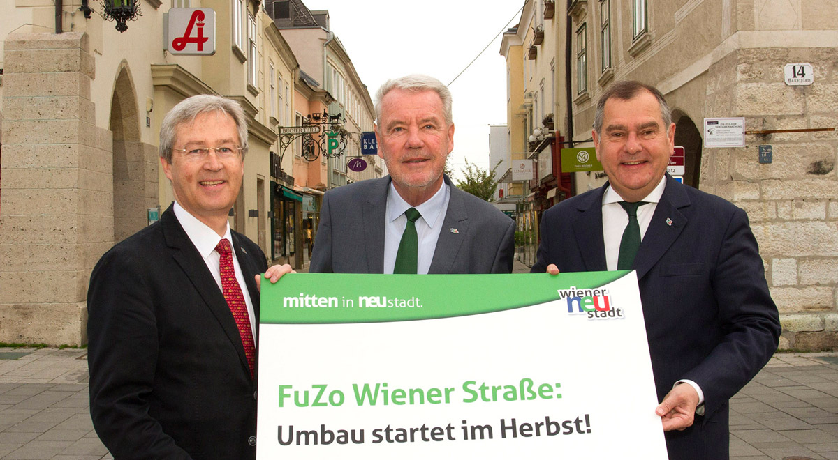 Fuzo Wiener Strasse / Foto: Wiener Neustadt/Weller