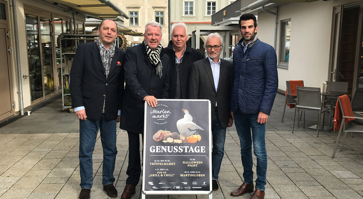 Genusstage am Marienmarkt / Foto: Wiener Neustadt/Zauner
