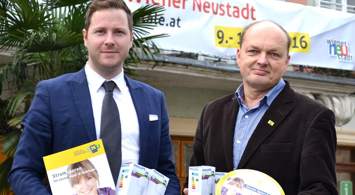 Gratis Energiecheck / Foto: Wiener Neustadt/Pürer