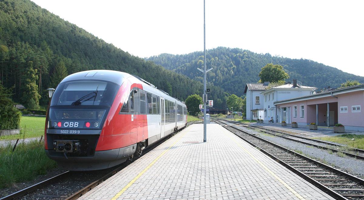 Gutensteiner-Bahn / Foto: Steindy via wikimedia (CC BY-SA 2.0 de)