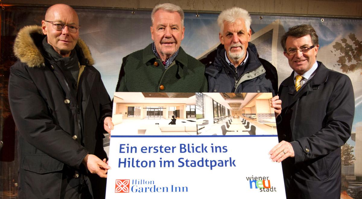 Besichtigung Hilton-Hotel / Foto:  Wiener Neustadt/Weller