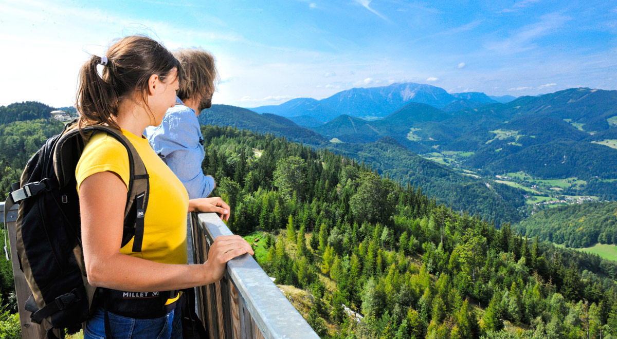 Hohe-Wand-Genussmarsch / Foto: © Naturparke Niederösterreich, Robert Herbst (www.pov.at)