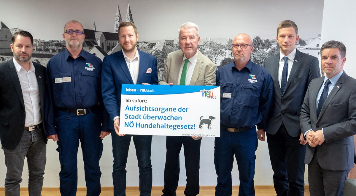 Neue Aufsichtsorgane / Foto: Wiener Neustadt/Pürer