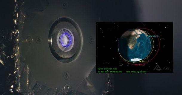 Foto: IFM-Antrieb CubeSat