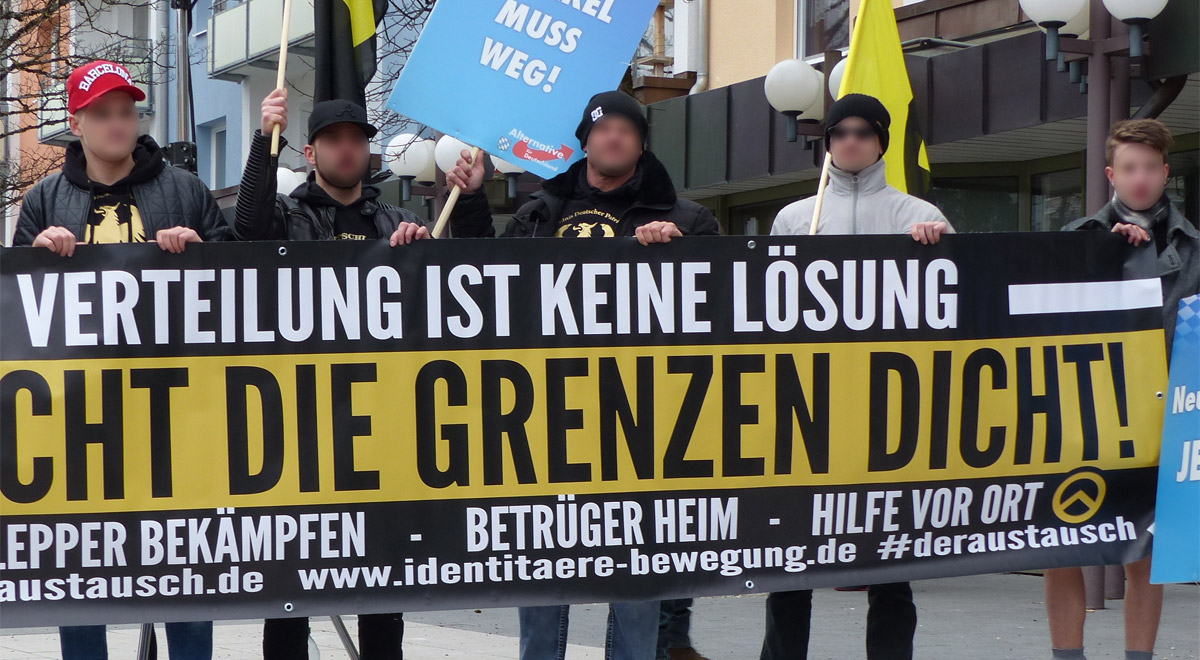 Identitäre Bewegung / Foto: Metropolico.org via Flickr (CC BY-SA 2.0)