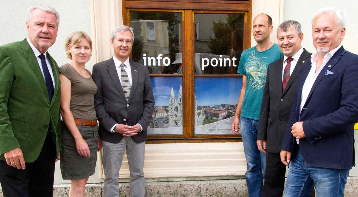"Servicestelle ""Infopoint Altes Rathaus"" / Foto: Magistrat"