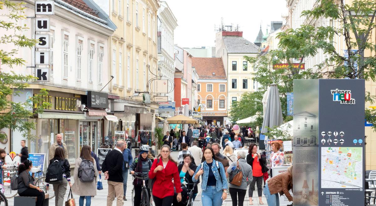 Wiener Neustädter innenstadt / Foto: Stadt Wiener Neustadt/Weller