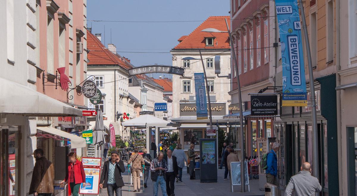 Innenstadt Wiener Neustadt / Foto: wn24 / Robert Mayer