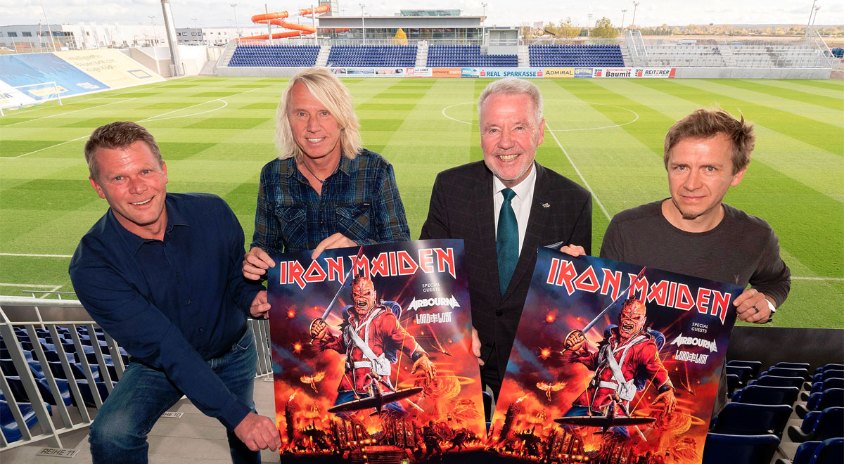Iron Maiden Open Air 2020 / Foto: Stadt Wienerr Neustadt/Weller