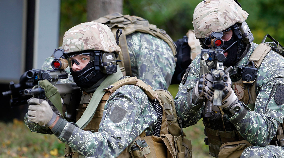Jagdkommando-Soldaten / Foto: Bundesheer/Dragan Tatic
