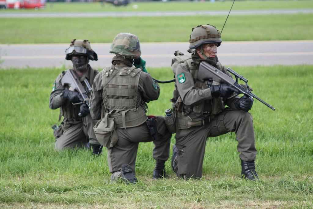 Soldaten des Jagdkommandos / Foto: Martin Wippel (CC BY-NC-SA 2.0)