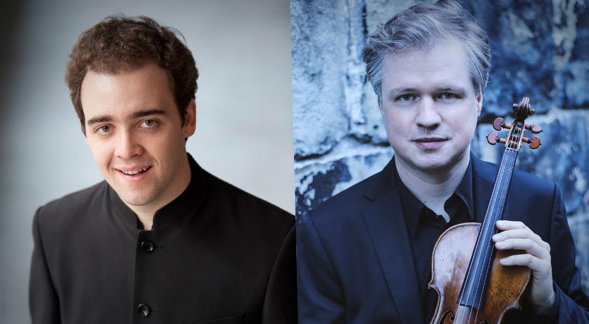 Jamie Phillips & Henning Kraggerud / Foto: Russell Duncan / Robert Romik