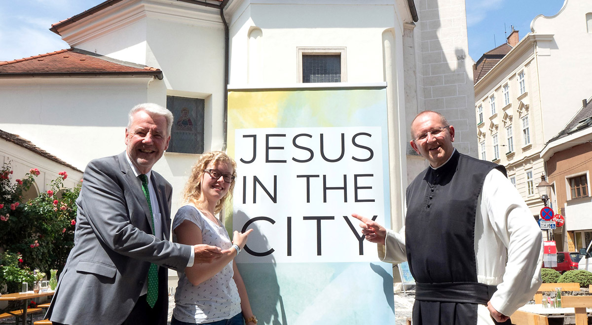 Jesus in the City 2018 / Foto: Wiener Neustadt/Weller