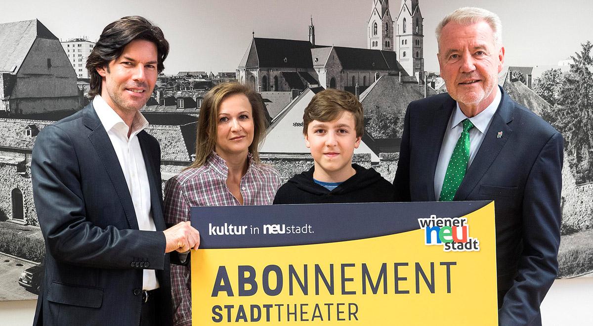 Jugendtheater-Abo / Foto: Wiener Neustadt/Pürer
