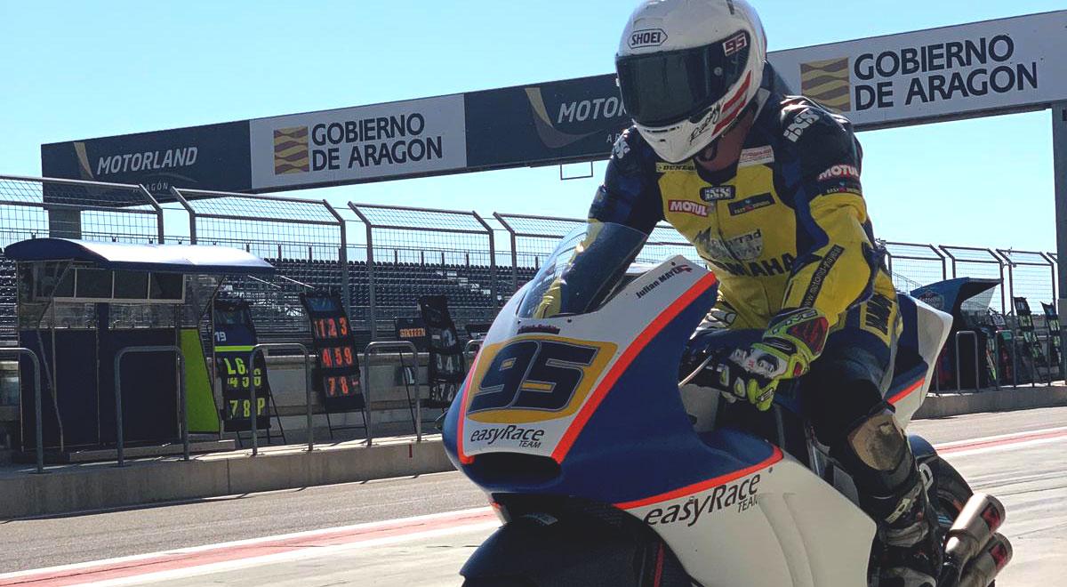 Julian Mayer moto2 / Foto: easyRace