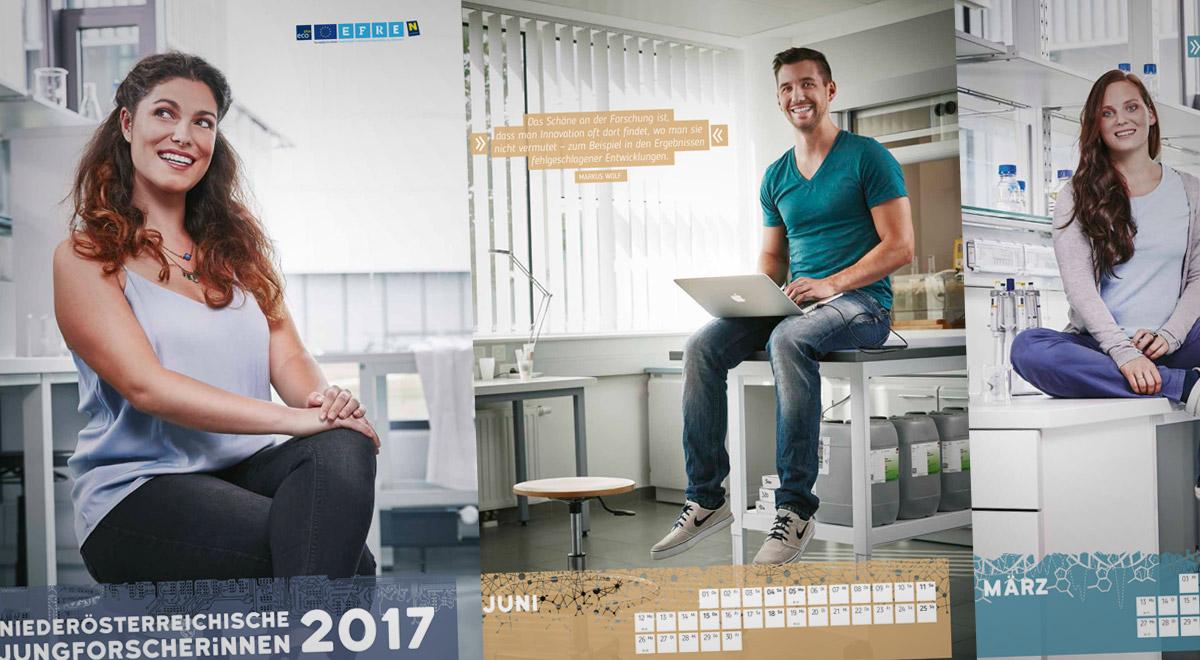 JungforscherInnen-Kalender / Foto: Michael Liebert