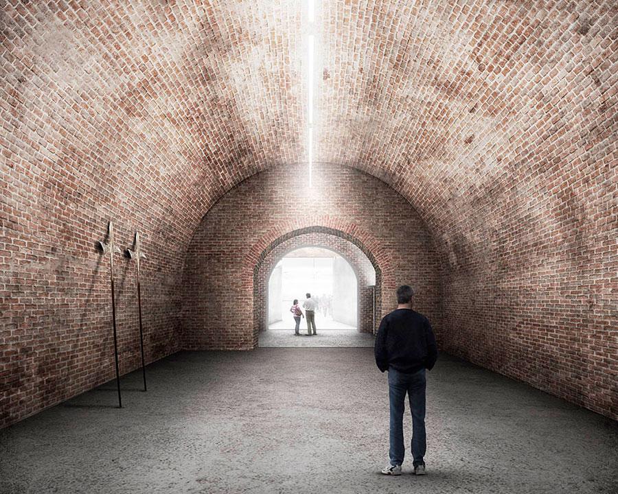 Kasematten-Hallen / Foto: bevk perovic arhitekti