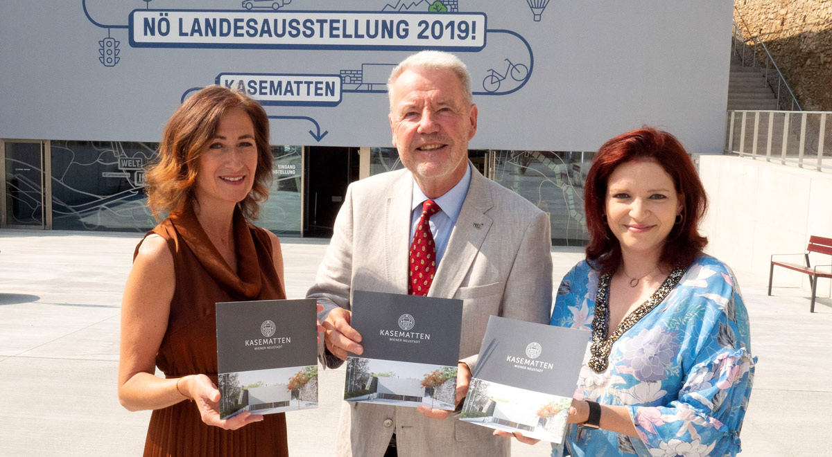 Eventlocation Kasematten / Foto: Stadt Wiener Neustadt/Weller