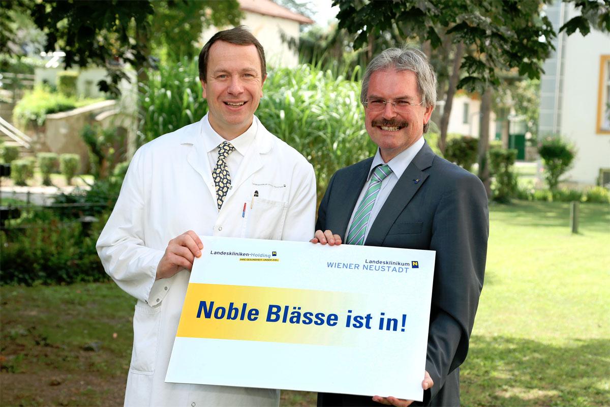 Noble Blässe ist in! / Foto: NÖ LK-Holding