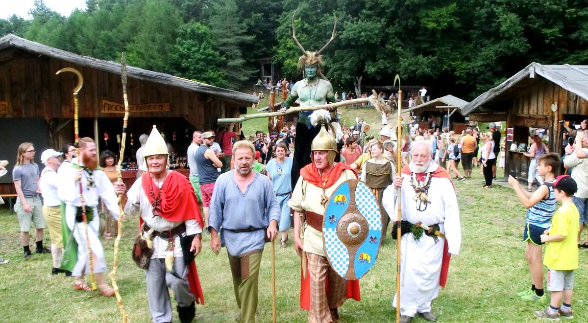 Keltenfest Schwarzenbach 2018 / Foto: zVg.
