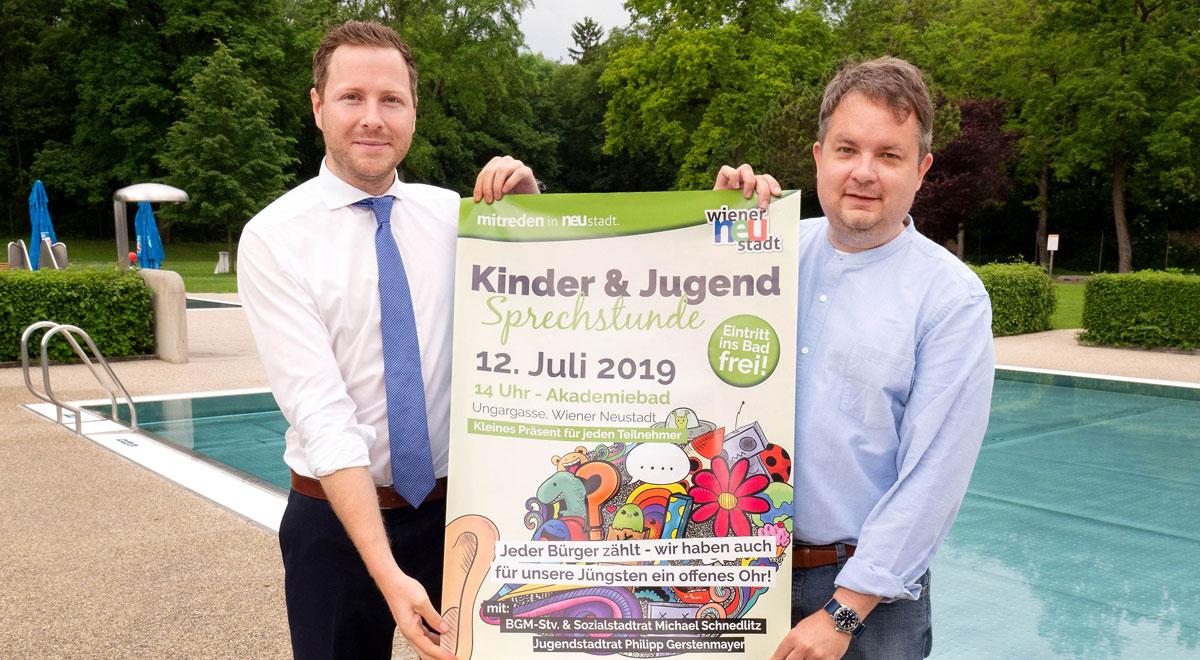 Kinder- und Jugendsprechstunde / Foto: Stadt Wiener Neustadt/Weller