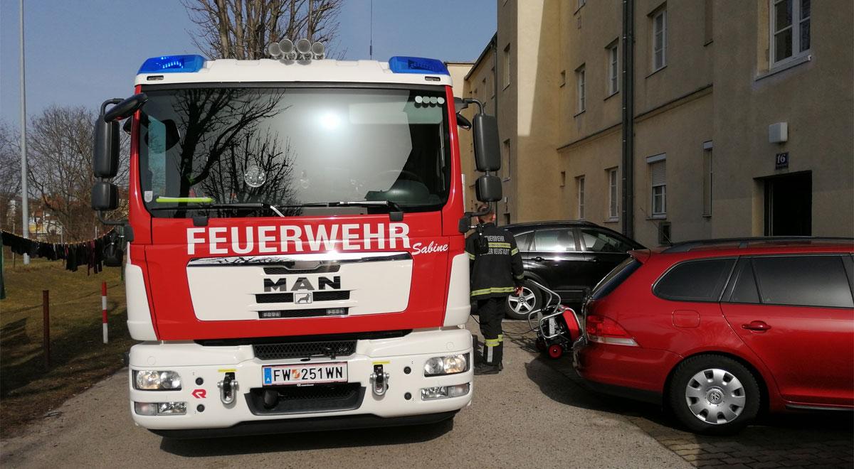 Kohlenmonoxidalarm / Foto: Presseteam d. FF Wr. Neustadt