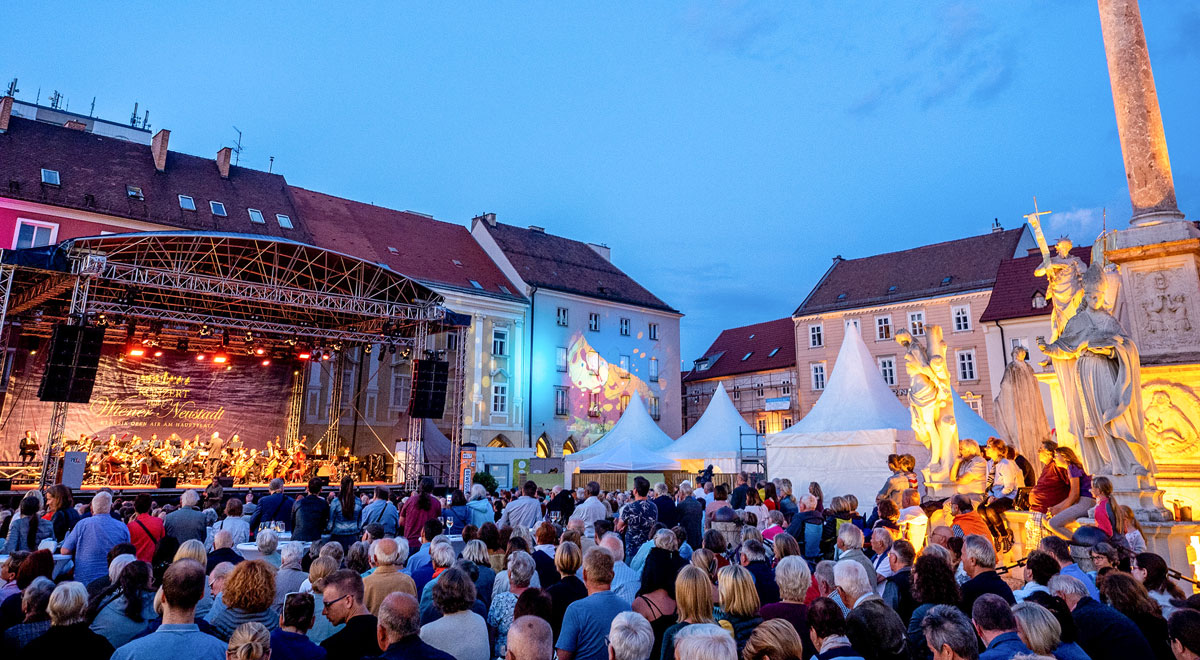 Konzert für Wiener Neustadt 2019 / Foto: Stadt Wiener Neustadt/Pürer