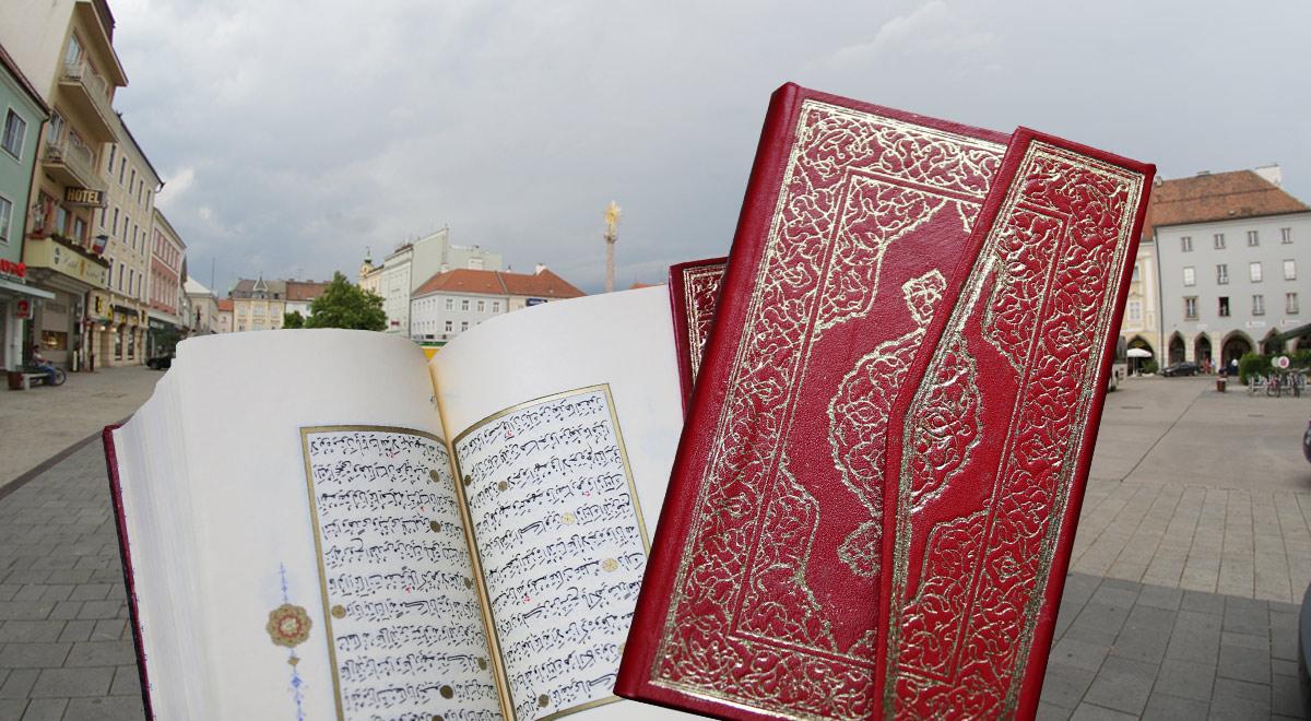Koran Verteilung