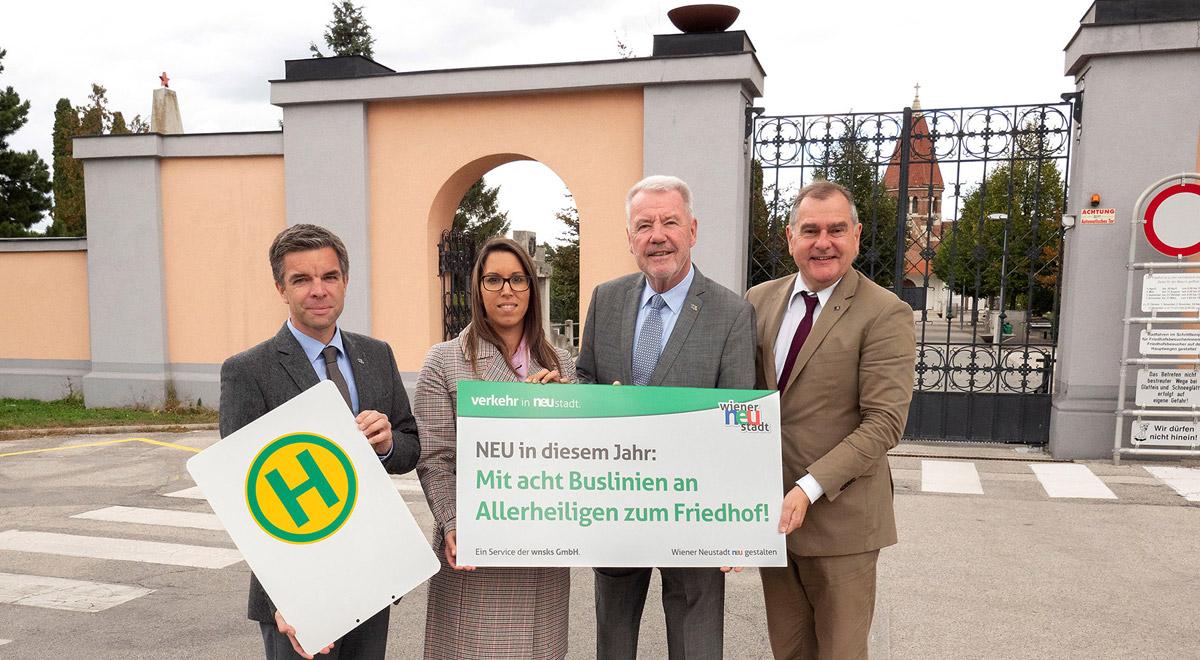 Kostenloser Busverkehr zu Allerheiligen / Foto: Stadt Wiener Neustadt/Weller