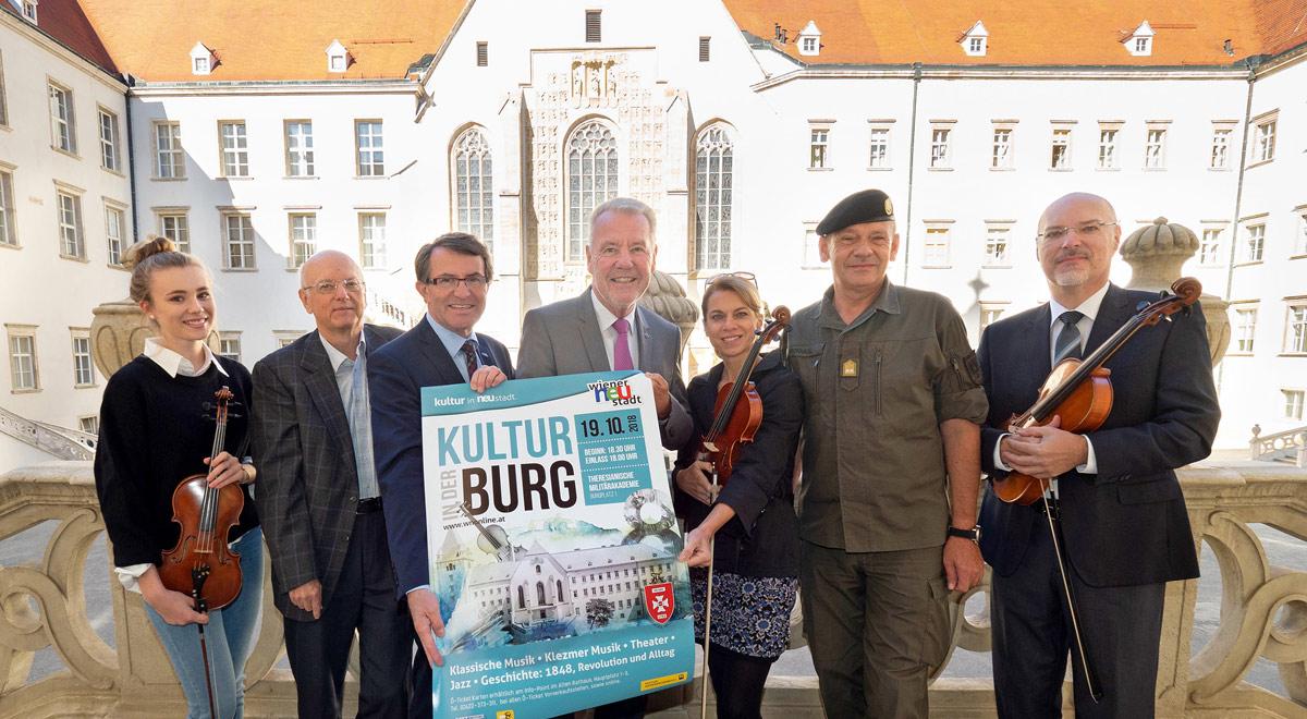 """""""Kultur in der Burg"""" 2018 / Foto: Wiener Neustadt/Weller"""