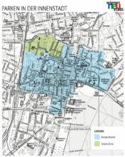 Kurzparkzonen und Grüne Zone Wiener Neustadt