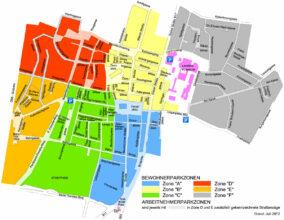 Bewohnerparkzonen Wiener Neustadt