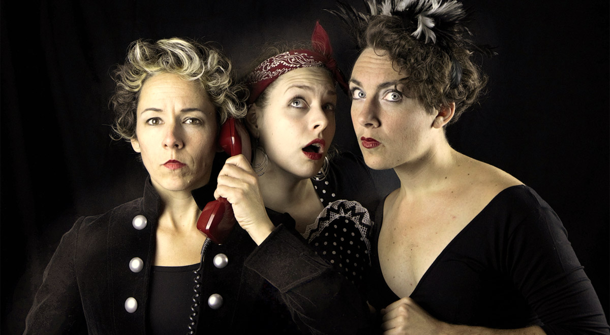 Theaterensemble Ladyglich / Foto: Victor Moye-Noza