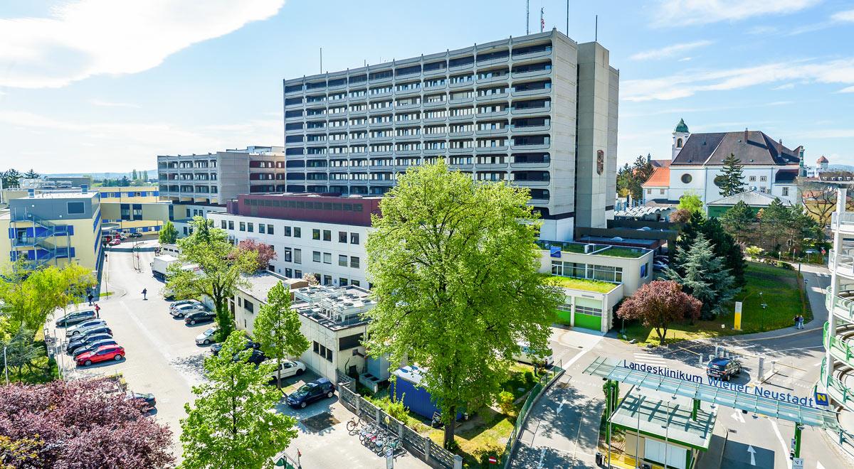Landesklinikum Wiener Neustadt / Foto: NÖ Landesgesundheitsagentur