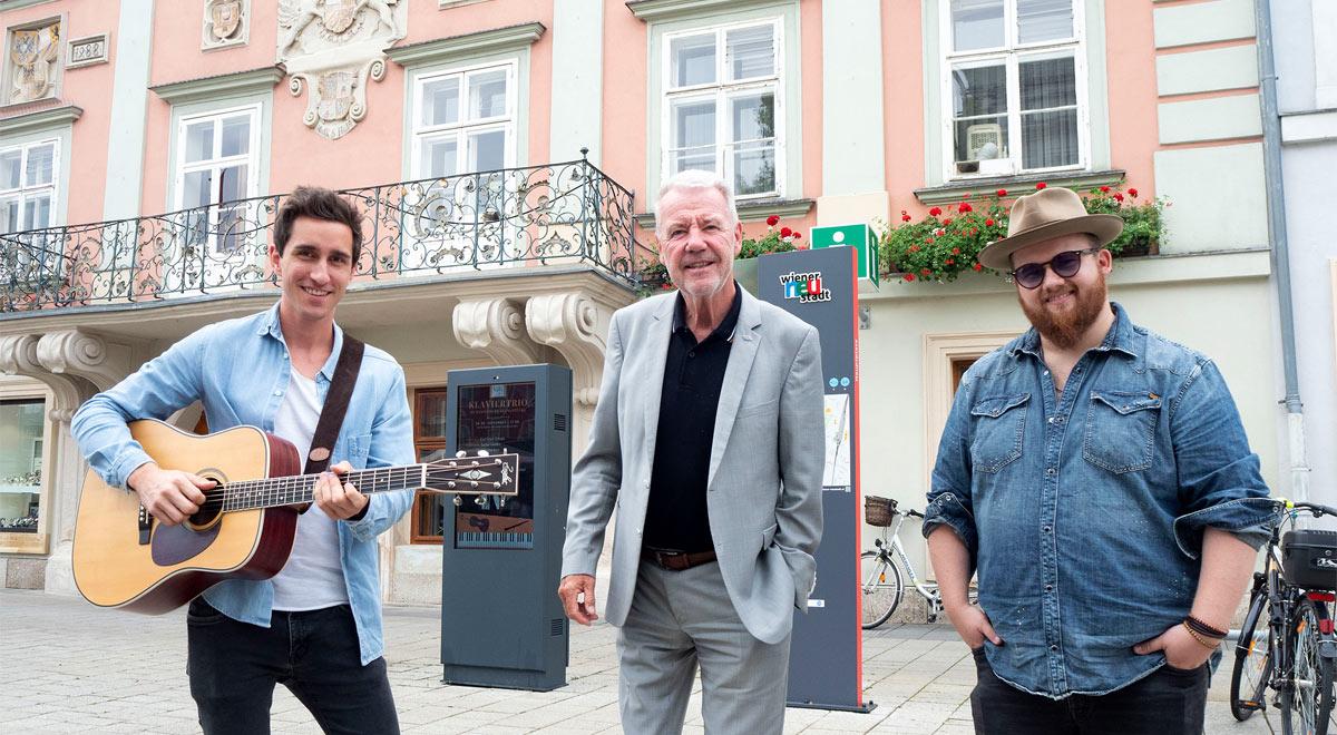 Luke Andrews Band / Foto: Stadt Wiener Neustadt/Weller