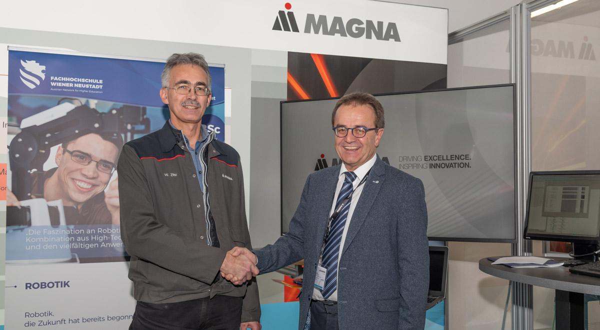 Kooperation mit Magna Steyr / Foto: © Magna Steyr