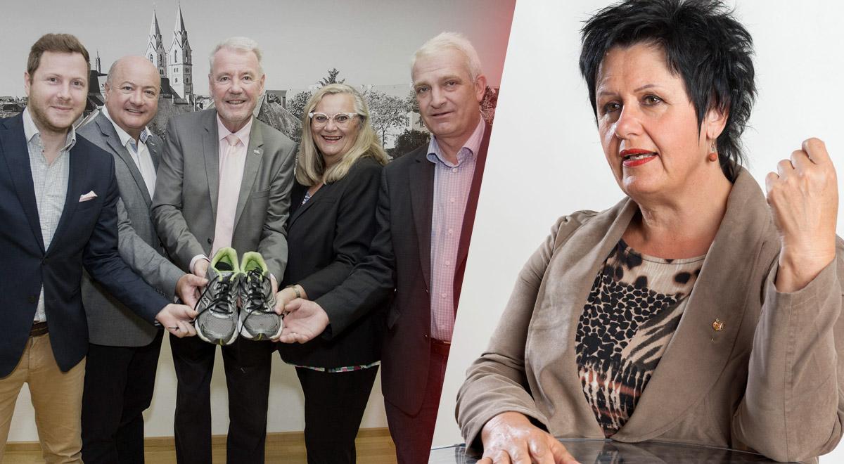 Margarete Sitz Kritik / Foto: Wr. Neustadt, Weller & SPÖ Wr. Neustadt