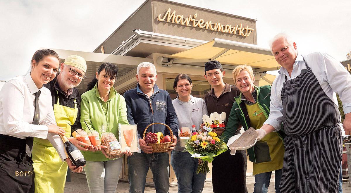 Marienmarkt feiert Geburtstag / Foto: Wiener Neustadt/Weller
