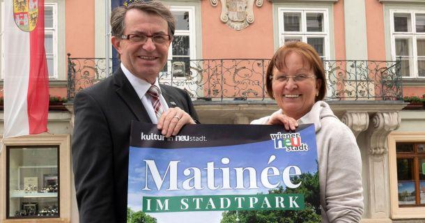 Foto: Matinée im Stadtpark 2018