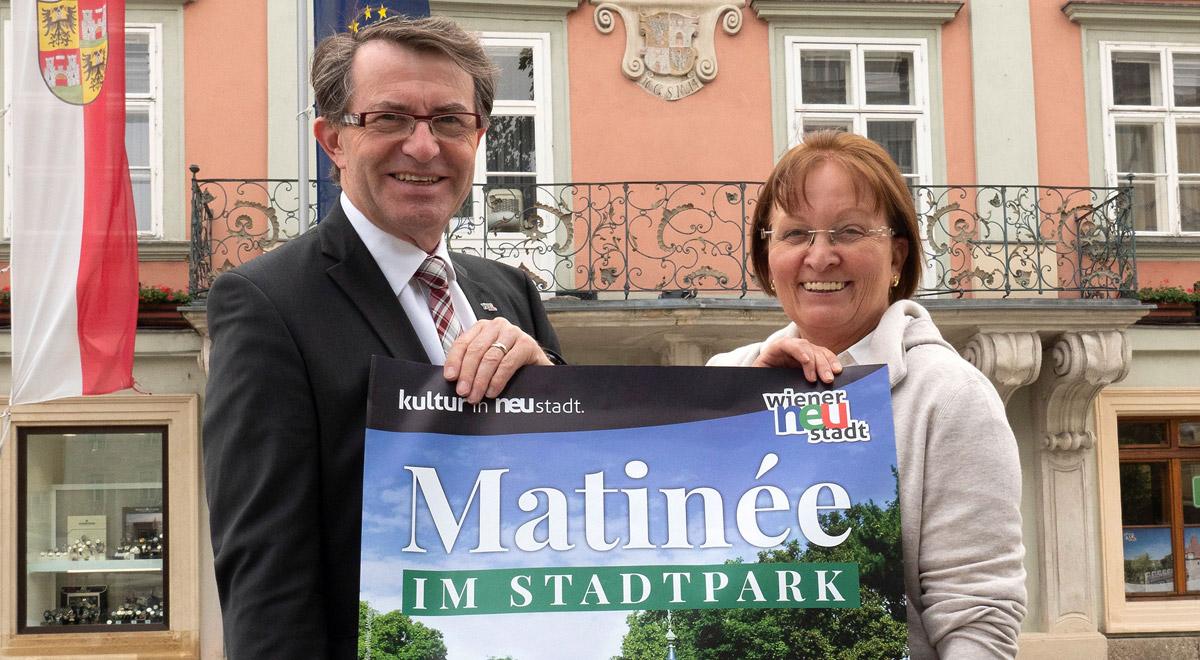 Matinée im Stadtpark 2018 / Foto: Wiener Neustadt/Weller
