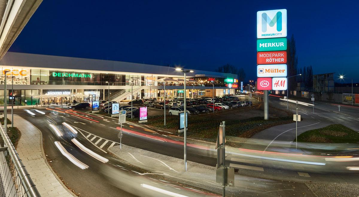 Merkurcity in Wiener Neustadt / Foto: Merkurcity