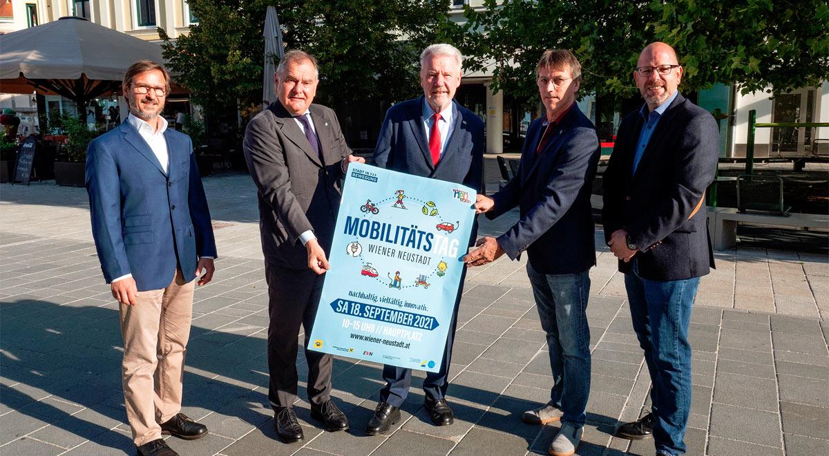 Mobilitätstag 2021 / Foto: Stadt Wiener Neustadt/Weller