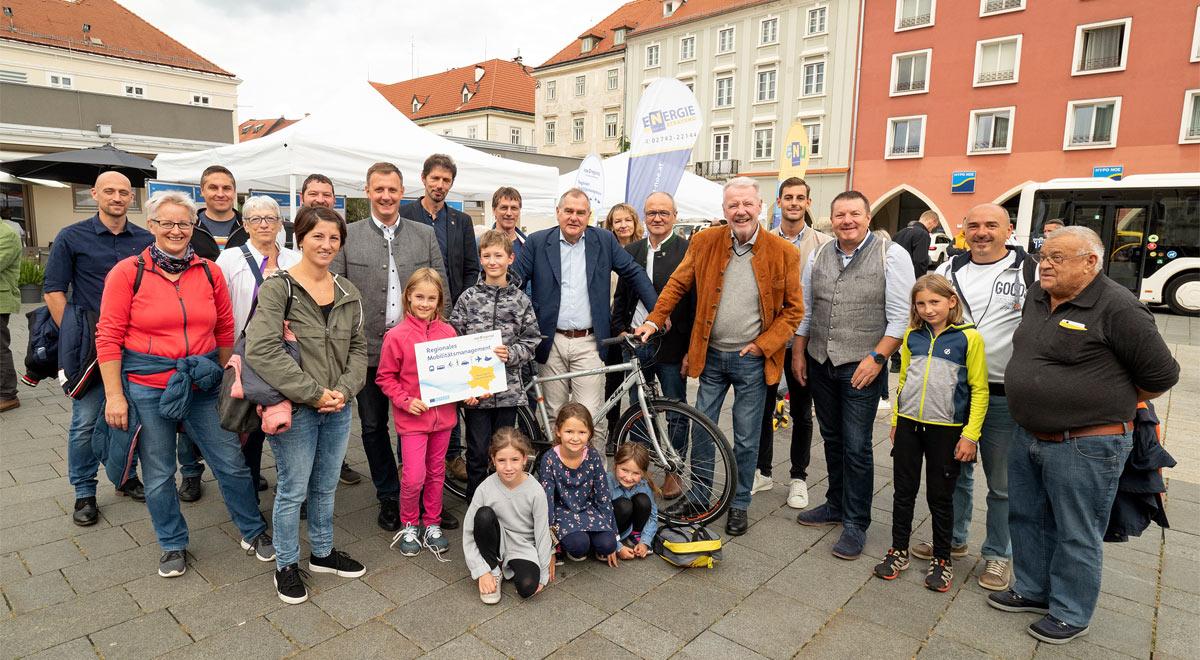 Regionales Mobilitätsmanagement / Foto: Stadt Wiener Neustadt/Weller