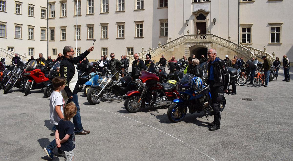 Motorradsegnung 2018 / Foto: © MilRG