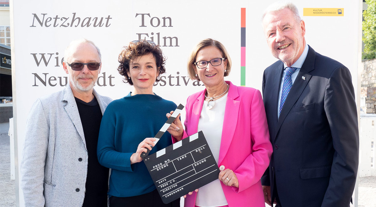 "Neues Filmfestival ""NETZHAUT"" / Foto: Stadt Wiener Neustadt/Weller"