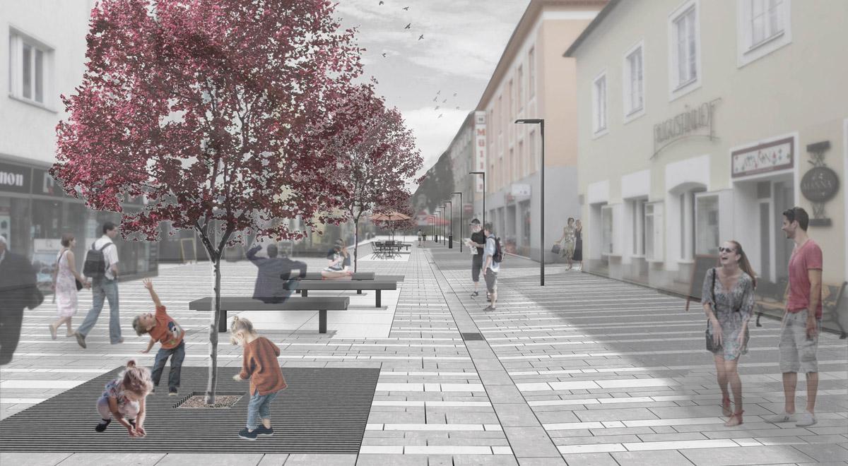 Neugestaltung Wiener Strasse / Foto: zVg.