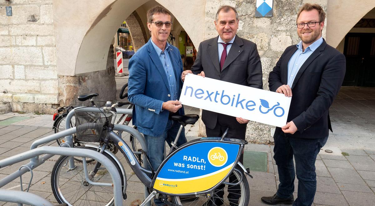 Nextbike Radverleih / Foto: Wiener Neustadt/Weller